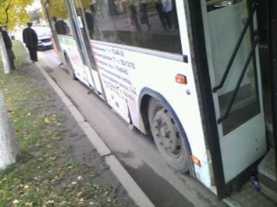 Автобус без пострадавших