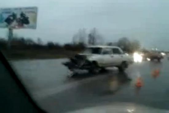 Судя по наличию машины Скорой помощи на месте происшествия, в результате аварии есть пострадавшие