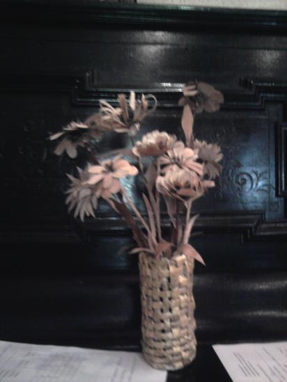 цветы из бересты