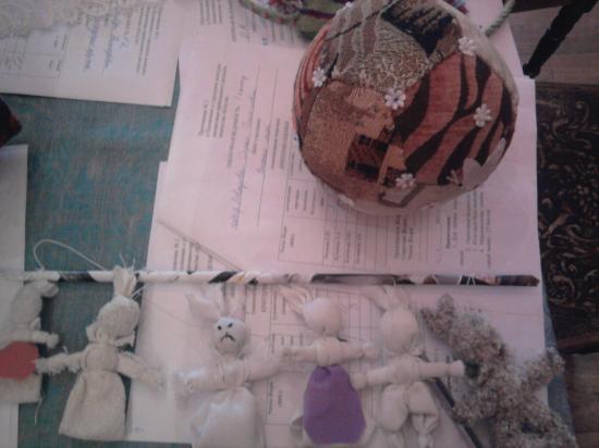 мяч и игрушки для народного театра