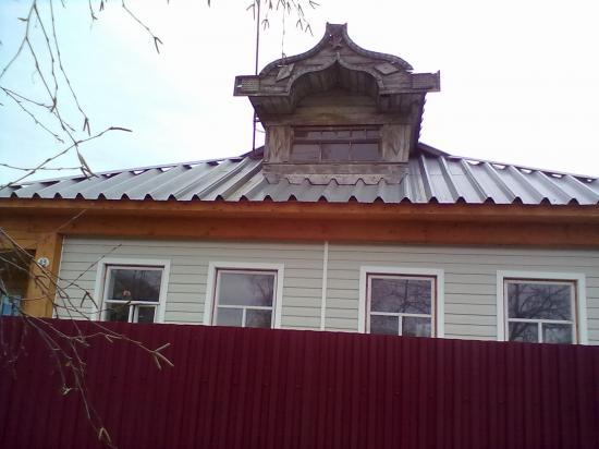 Видно, каким этот дом был раньше