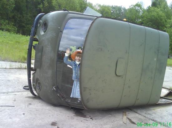 Фотомобиль: замуровали!