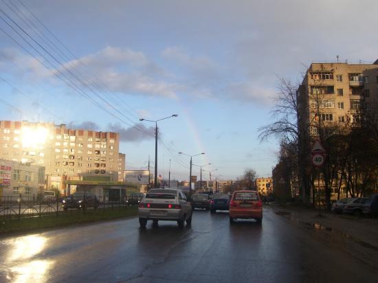 Фотомобиль: вслед за радугой...