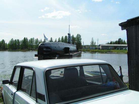 Фотомобиль: чуть не стокнулись с подводной лодкой