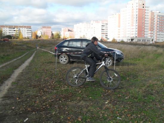 Фоторепортаж о соревнованиях по велокроссу в Осановской роще