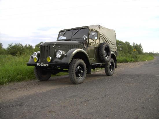 Фотомобиль: легенда ГАЗ-69