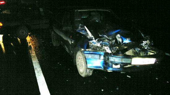 На новомосковской трассе авария с пострадавшими (ВИДЕО)