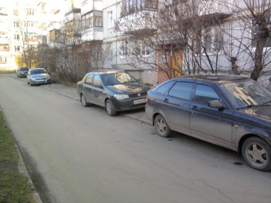 Автомобили... буквально все заполонили!