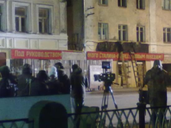 Про бандитов и ментов. В Рыбинске снимают кино!(Видео, фото)