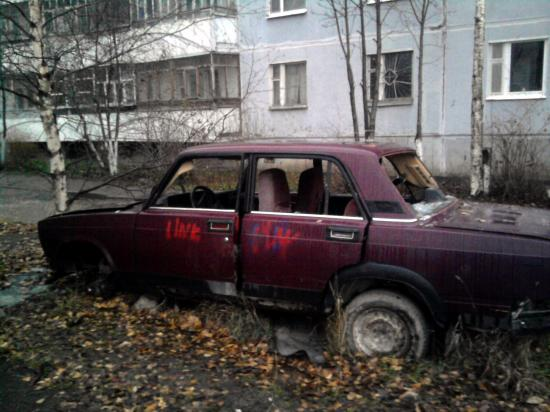 Операция Ы: автохлам на Ярославской 23а