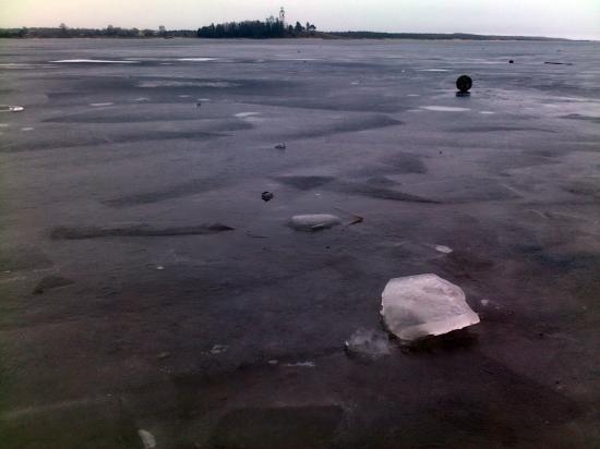 Первый лед на Кубене
