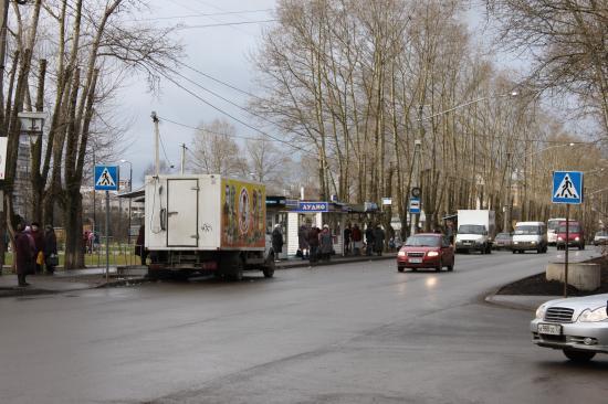 Это перекресток Московской и Текстильщиков