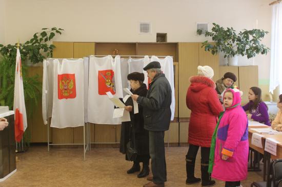 голосуют семьями