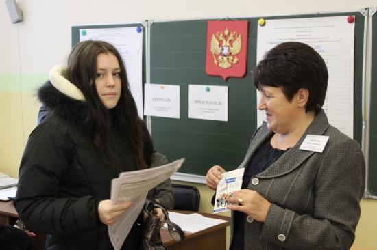 в 1 раз на выборы. Вологжане получают подарки при первом голосовании в жизни