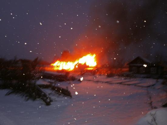 Пожар в Баранково