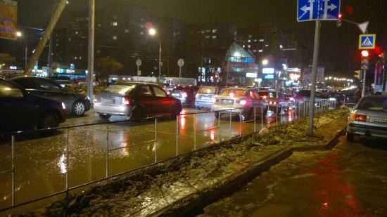 А чего такое было с троллейбусами на Ленинградской?