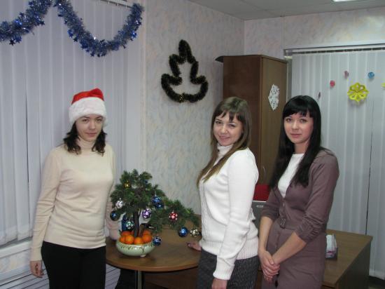 Новогодний офис: МАНДАРИНОВАЯ ЗИМА