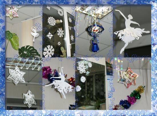 Танцуют балеринки,  Как белые снежинки!