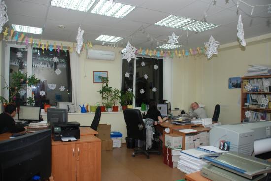 Общий вид нашего праздничного кабинета