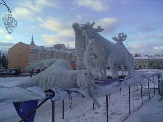 Упал Дед Мороз
