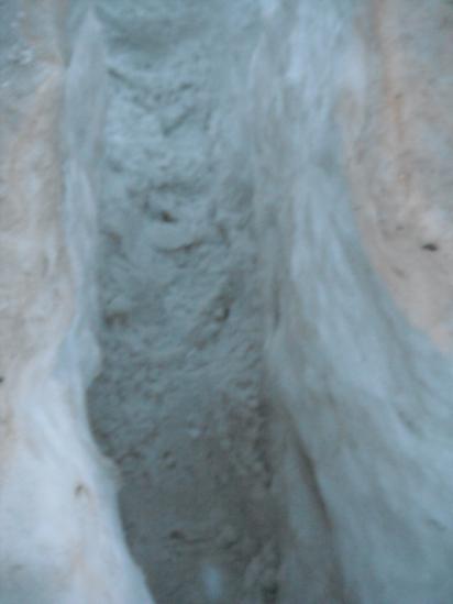 Вот такие лабиринты в снежной горке