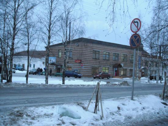автовокзал города Кириллов.