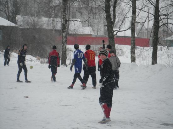 футболисты нашего села.