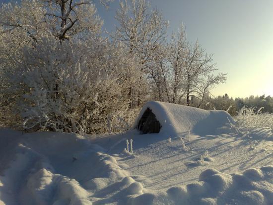 А за городом зима-зима-зима!