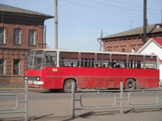 вот он наш родной Кубенский автобус.