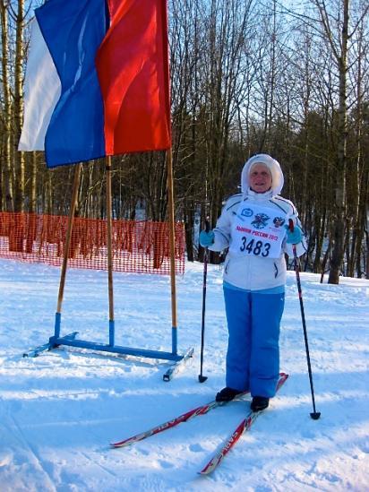 Ветераны вышли на лыжню в Череповце.