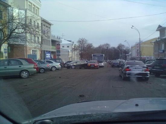 Нелепое ДТП на ул Ленина