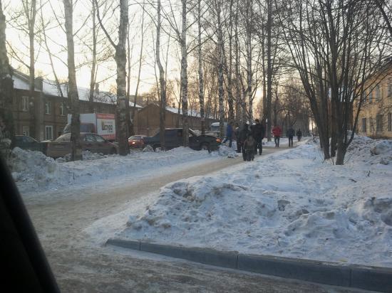 Авария на улице Можайского