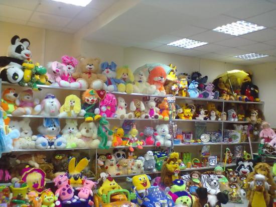 Отдел маленький, но выбор большой. Кроме того, игрушки из Беларуссии и можно надеяться, что они экологически чистые и не навредят детям. А еще и помогут Геворгу бороться со страшным недугом
