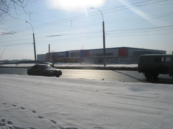 На пересечении улиц Ленинградская - Окружное шоссе летом 2012 года будет запущен ТЦ