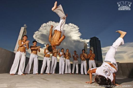 Фестиваль по боевому искусству Капоэйре