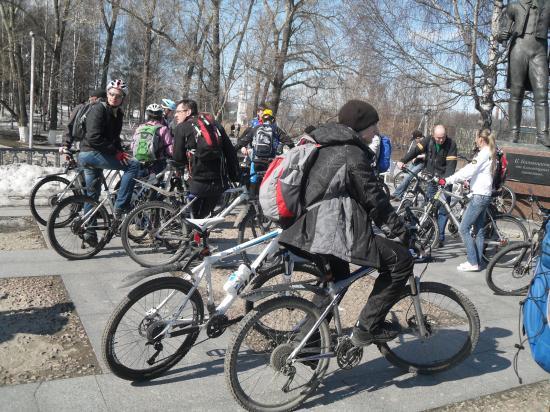 Открытие велосипедного сезона 2012