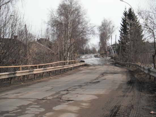 С этого моста и наехал водитель-убийца.