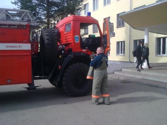 Учения по пожарной эвакуации (Молочное)