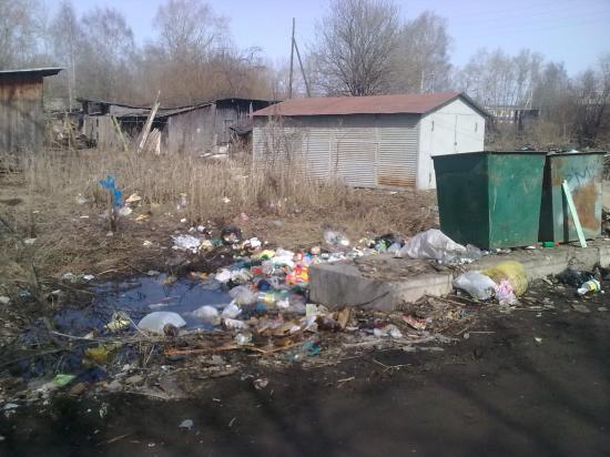 Помойка на ул.Народная