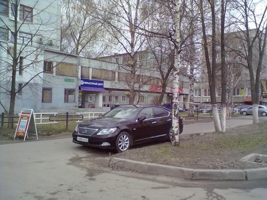 Такая парковка только для избранных или всем так можно?