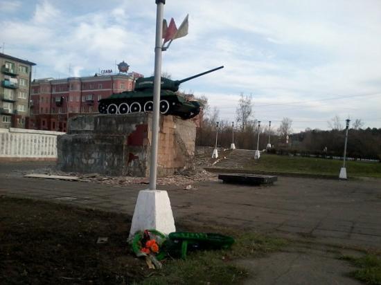 8 мая 2012 года монумент