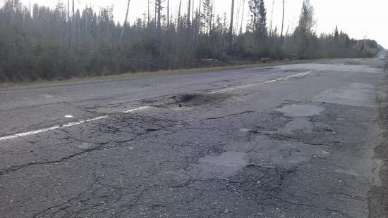 Вологодская колдобина: трасса Тотьма - село имени Бабушкина