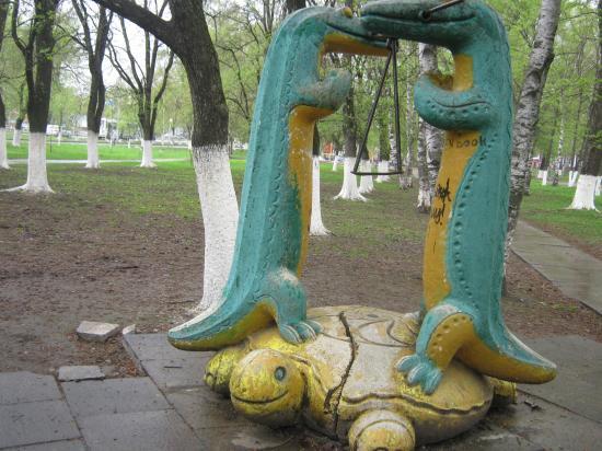 Детская площадка в Вологде
