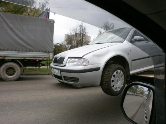 Невезучая машина...