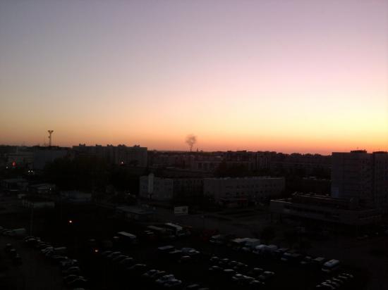 Пожар в центре Вологды?