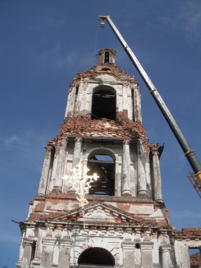 На  храме Василия Великого   установлены  новые кресты