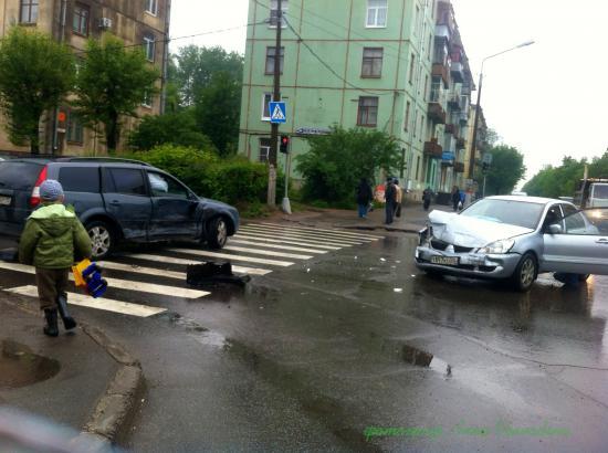 Авария в Череповце