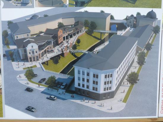 Проектное предложение по регенерации квартала в границах ул.Мира-Каменный мост в г.Вологде