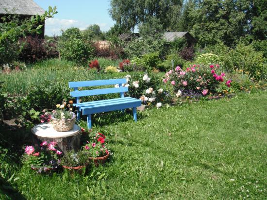 тихо и красиво в саду