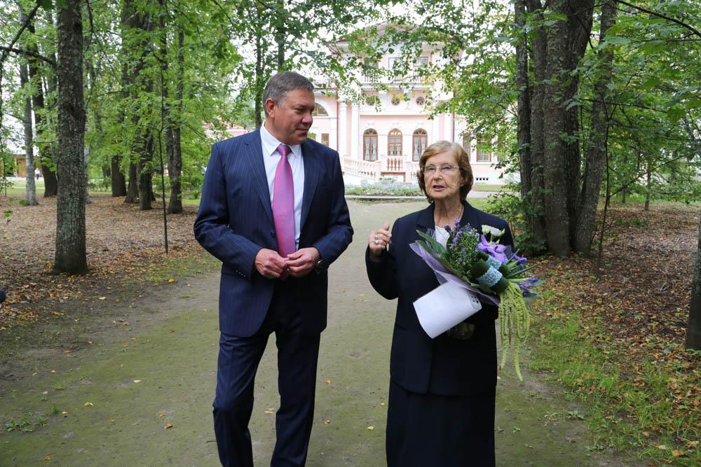 Татьяна Ватсон получила медаль «За заслуги перед Вологодской областью»